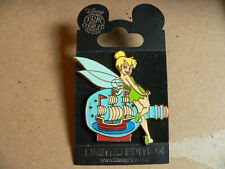 Tinker Bell Ship in a Bottle Giltter Le Disney Store Nautical Series Vhtf Pin Oc