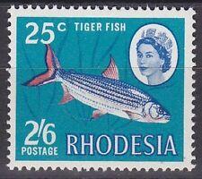 Rhodesien 1968 Mi.Nr. 78 ** Freimarke Fisch Fish