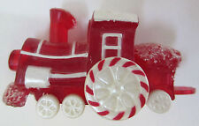 Hallmark Christmas Merry Miniatures Red Candy Train