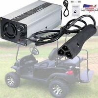 New 48 Volt Golf Cart Battery Charger RXV Plug 48V 6A Charger for Ez Go Club Car