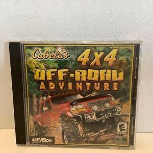 2001 Cabela's 4x4 Off-Road Adventure PC Game Activision