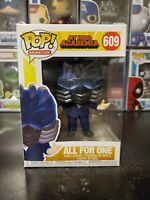 Funko Pop! My Hero Academia All For One #609 Vinyl Figure WITH PROTECTOR!