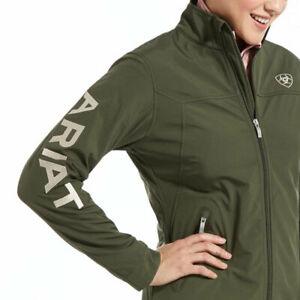 Ariat Ladies Team Softshell Jacket - Prairie  - Sizes Small to 2Xlarge