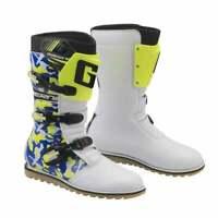 Gaerne 2020 Adults Classic Waterproof Motor Bike Trials Boots - Camo Blue