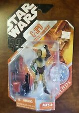 30 Year '77-07 STAR WARS  C-C3PO W/Battle Droid Head UNOPENED with Coin