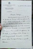 1937 90) LETTERA AUTOGRAFA DEL CHIMICO DI BAGNI DI LUCCA MARIO BETTI A G. BOERIS