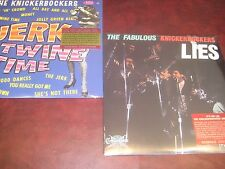 KNICKERBOCKERS LIES + JERK & TWINE TIME LIMITED EDITION SPECIAL MONO 2 LP SET