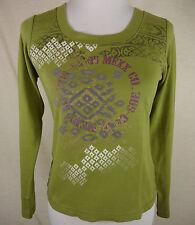 Mexx Damenblusen, - tops & -shirts mit Rundhals-Ausschnitt aus Baumwolle
