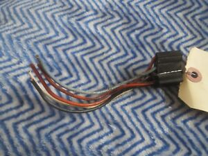 1966 MERCURY COMET CYCLONE WINDSHIELD WIPER SWITCH WIRING CONNECTOR PLUG