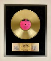 The Kinks Something else by the Kinks Gold Vinyl Record In Frame LP Display