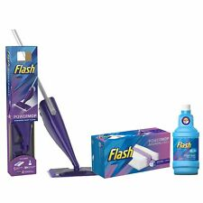 Flash Powermop Liquid Refills Pads General Cleaning Multipurpose Fast Speed Mop