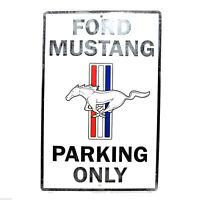 Ford Mustang Large 12 x 18 Automotive Car Garage Man Cave Parking Sign Free Ship