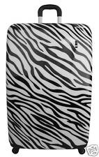 "Travel Concepts Exotic Spinner 21"" Safari Luggage Carry On ZEBRA by Heys"