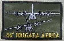 """Toppa/Patch Commemorativa """"46° BRIGATA AEREA"""" - A.M. (Modello Maxi)"""