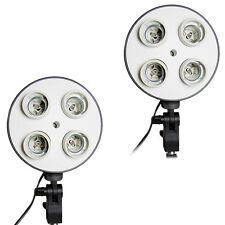 2x Super Lamp Holder SLH4 - Foto-Lampe Lampenhalter für Tageslicht Studioleuchte