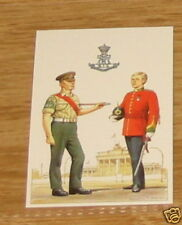 #16 green howards Army / military card
