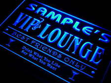 Name Personalized Custom Home Bar  VIP Lounge Best Friends Neon Sign 7 colors