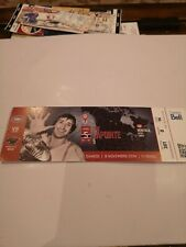Montreal Canadiens  2014 SEASON  vs Wild. Guy Lapointe on ticket.