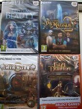HIDDEN OBJECT GAMES BUNDLE---PC CD/DVD---BRAND NEW & SEALED