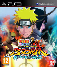 Naruto Shippuden: Ultimate Ninja Storm Generations (PS3) new & factory sealed