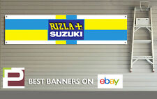 Rizla Suzuki Garage Banner PVC Sign for office, garage, pit lane, Moto GP