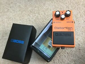 Boss. ds1 distortion pedal. Original Box And Instructions