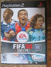 FIFA Soccer 08  (Sony PlayStation 2, 2007)