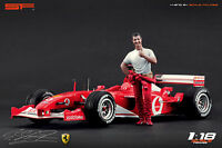 1:18 Michael Schumacher ferrari figurine NO CARS !! for diecast collectors by SF