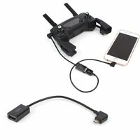 USB Cable Connector Transmitter Controller Phone Tablet For DJI Mavic Pro Spark