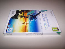 ENDLESS OCEAN 2 - Nintendo WII - UK PAL -  NEW & FACTORY SEALED - EXC COND