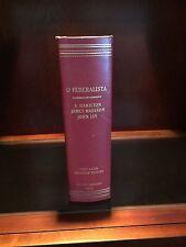 O Federalista 1st Latin American Edition of The Federalist 1840 Rio De Janeiro