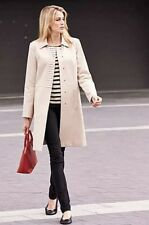Dannimac Simply Be Stone Beige Mac Coat - BNWT - Plus Size 20