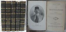 Ensemble de 5 ouvrages de Pierre Loti reliés dont une 1ère édition/ 1886 - 1921