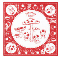 NEW My Nintendo Toad Kinopio Bandana Super Mario Japan Import