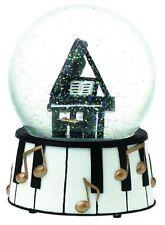 Grand Piano Snow Globe