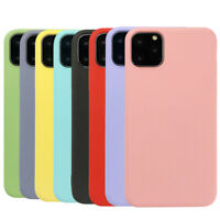 For Apple iPhone 11/11 Pro Max Slim Soft TPU Silicone Case Shockproof Cover
