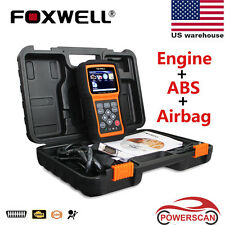 FOXWELL NT630 Engine ABS&Airbag SRS Reset Tool OBD2 Scanner Live Data Code Read