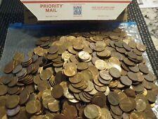 10 Lb./'s Lincoln Memorial copper 1959-1981 cents pennies $15 face value Bullion