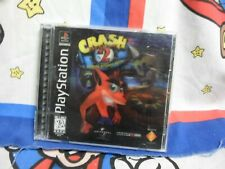 Playstation Crash Bandicoot 2 Cortex Strikes Back Hologram Game Complete
