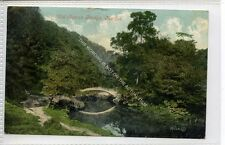 (Ga8350-477) Old Roman Bridge, Marple, Stockport 1912 VG