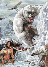CAVEWOMAN FREAKIN' YETIS #1 BUDD ROOT SPECIAL EDITION COVER D 450 COPIES