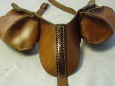 vintage marrón de piel para perro Alforjas perro alforjas