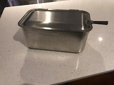 Hercules Food Service Equipment Large Roaster Hinged Lid EUC Heavy Duty
