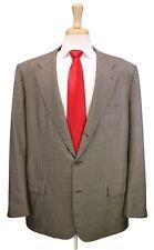 * KITON * Sandy Brown 2-Btn Handmade Wool Luxury Suit 44L