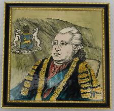 Lord north céramique american déclaration d'indépendance comte de guilford