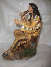 Collectible Rock River Traders Native American Indian Figurine