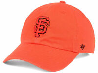 San Francisco Giants '47 MLB Tonal Pop '47 CLEAN UP Cap NWT Orange Strapback Hat