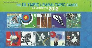 GB 2009 Olympic Sports 1 Presentation Pack M18