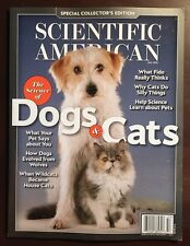 Scientific American Special Science Of Dogs & Cats Fact Fall 2015 FREE SHIPPING!