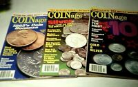 Vintage COINage Magazines 1983 EXCELLENT Condition July Sept. Oct.